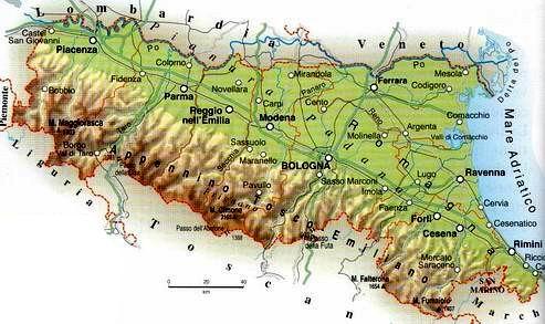 Cartina Italia Fisica Emilia Romagna.Emilia Romagna D L R Lessons Blendspace