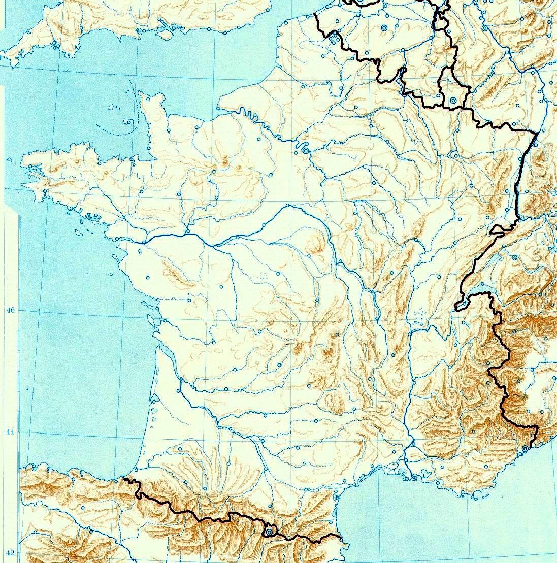 Cartina Aeroporti Francia.Cartina Della Francia Mappa Francia