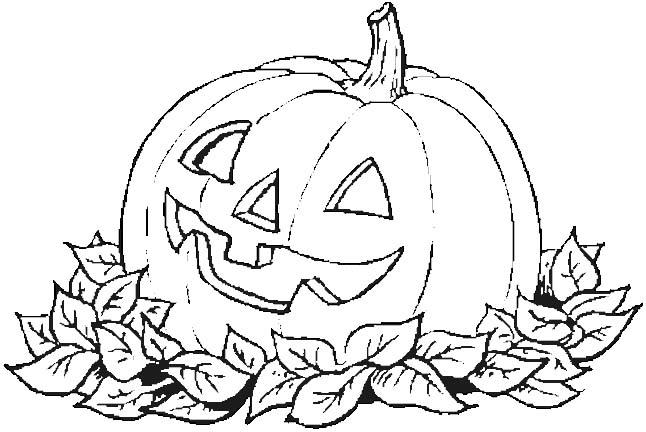 Festivita 39 - Pagina da colorare per halloween ...